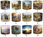 Hunting Scene Lampshades, Ideal To Match Hunting Scene Curtains & Pelmets.