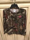 MOSSY OAK Break-Up Infinity Long Sleeve Ladies CAMO T-Shirt