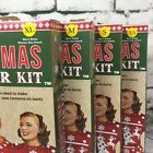 Ugly Christmas Sweater Kit Make Your Own Ugly Holiday Cayenne Red XS, S, M, XL