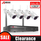 8CH Wireless Security Camera System 1080...