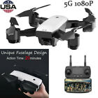 SMRC S20 6-Axis RC Drone Dual GPS FPV White Quadcopter Drone - 5MP 1080p Video