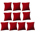 10x Velvet Bracelet Pillow Cushion Watch Jewelry Display Holder Showcase Pillows