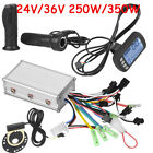 24V/36V Electric Bicycle E-bike Scooter Brushless Motor Speed Controller Kit LCD
