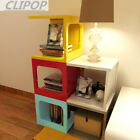 High Gloss Nest Table Coffee Table Square Side End Table Storage Home Furniture