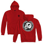 "Lurking Class by Sketchy Tank ""Widow"" Pullover (RD) Men's Hooded Sweatshirt"