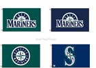 Seattle Mariners Flag 3ft x 5ft Polyester Retro MLB ManCave NEW! FAST SHIPPING on Ebay
