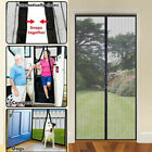 Magic Mesh Screen Net Door with 26 magnets Anti Mosquito Bug Curtain US