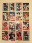 1981 Topps Football NFL choose Pick your cards $0.99 USD on eBay