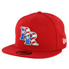 New Era 59Fifty Puerto Rico Fitted Hat (Scarlet Red) Men's Cap