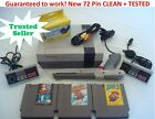 Kyпить NINTENDO NES REFURBISHED CONSOLE SYSTEM GAMES SUPER MARIO +YOU PICK BUNDLE+ на еВаy.соm