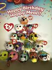 MCDONALDS 2019 HAPPY MEAL 40TH YEAR HAPPINESS TY BEANIE BABIES PICK YOU FAVORITE