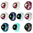 For Samsung Galaxy Watch Active 2/1 Silicone Sport Replacement Wrist Band Strap image