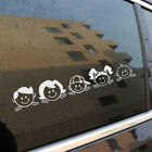 1 Sheet Peeping Family For Auto Car/window Pet Decal Sticker Decals Decor Good