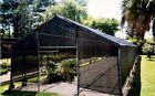 Black Mesh Tarp- Block The Sun- Bloc UV Rays  - 75+ % Shade  Free Shipping