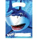 SHARK SPLASH LOOT BAGS Birthday Party Favour Supplies Boys Gift Pack Party Kids