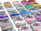2X FIMO Soft Polymer Clay MODELLING - MOULDING OVEN BAKE all 72 COLORS  image