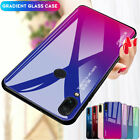 For Xiaomi 8 9 Redmi Note 7 6 5 Pro Gradient Tempered Glass Hard Back Case Cover $3.13 USD on eBay