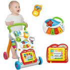 Music Baby Walker Baby First Step Car Baby Trolley Sit-to-Stand Learning Toys
