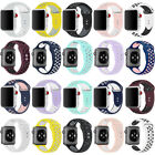 Replacement Silicone For Apple Watch 1/2/3/4 iWatch Sport Band Strap 40mm 44mm image