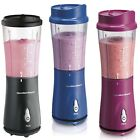 SINGLE SERVE BLENDER Hamilton Beach Personal Nutrient Shakes Smoothies Maker
