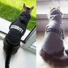 Warm Security Cat Houdies Coats For Cats dogs Outfit For Pet Clothing Animals