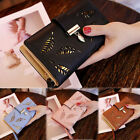 Women Long Leather Wallet Checkbook Card Holder Purse Lady Elegant Buckle Clutch image