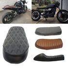Vintag Cafe Racer Flat &Hump Saddle Seats For Honda Nighthawk CB XL Yamaha XJ XS $34.6 USD on eBay