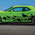 Fits Dodge Challenger Side Punisher Mopar Splash Grunge Vinyl Decal Graphic $180.0 USD on eBay