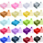 5x7cm Luxury Organza Gift Bags Jewellery Pouch Small Wedding Party Candy Favour