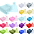 7x9cm Luxury Organza Gift Bags Jewellery Pouch Small Wedding Party Candy Favour