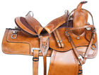 Used Western Saddle 15 16 17 18 Pleasure Trail Ranch Roping Horse Tack Set