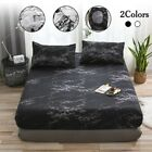 Stone Pattern Bedspread Bedding Protectors Proof Dust Mite Mattress Pads Covers image