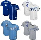 Mens 4 Alex Gordon Kansas City Royals Flex Base Player Jersey Pick Color Size