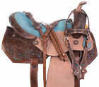 Used Western Barrel Saddle 15 16 Pleasure Trail Show Horse Premium Leather Tack