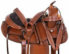 Used Gaited Saddle 15 17 in Western Trail Leather Horse Tack Set