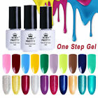 BORN PRETTY Glitter UV Gel Polish Colorful Gel Varnish One Step 3 In 1