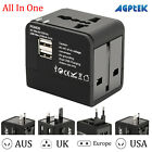 Universal International Travel Wall Charger Power Adapter Type C 4 USB Converter