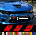 Dodge Charger Hash Marks Front Bumper Decal Hellcat Daytona Scat Pack  for sale