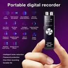 Portable Rechargeable HD Audio Voice Recorder Dual Microphone Dictaphone