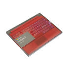 "New Microsoft Surface 3 10.8"" Type Cover Keyboard Backlighting. Red Blue Black"