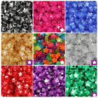 Beadtin Sparkle 13mm Star Pony Beads (250pcs) - Color Choice
