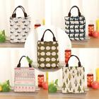 Big Insulation Package Portable Waterproof Canvas Lunch Bag Insulated Lunch Bags