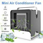 Mini Portable Air Conditioner Cooling Humidifier Desk Fans Purifier Home Office photo