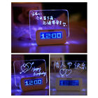 MagiDeal Monique Board Clock with Highlighter Show Time Calendar Temperature