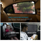 Practical Car Safety Seats 2Pcs Slip On Window Shades Window Screen Protector