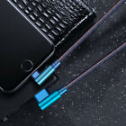 Type-C Micro-USB For Sony Xperia Right Angle 2.4A Fast Charging Data Sync Cable