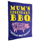 Kitchen Cooking Tea Towels - Mums Bbq - Cooking Cleaning Christmas