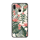 Vintage Floral Rose Sunflower Cherry Nature Leaf Silicone Case Cover For Huawei