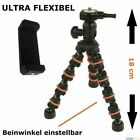 TOP 18cm Tischstativ flexibel Smartphone Foto Video Stativ Halter Handy Ständer