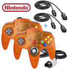 Wired Controller &  Extension Cable Gamepad Joystick for N64 Console and System